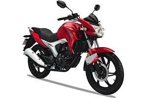 Красный мотоцикл Lifan LF150-10b