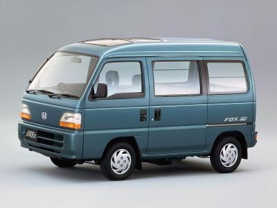 Honda Acty: вид сбоку