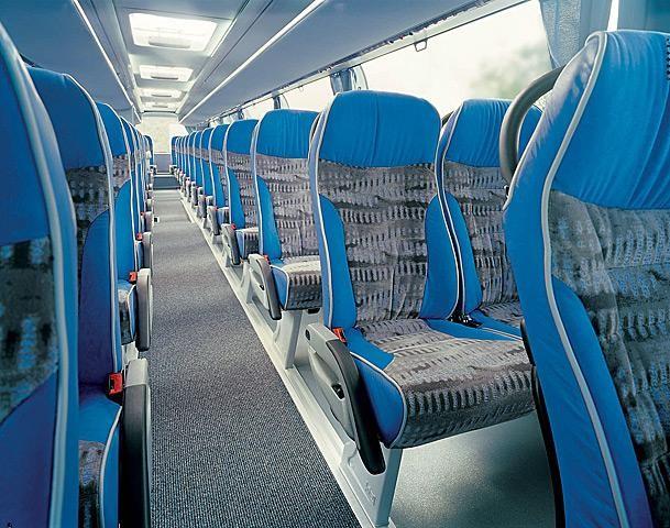 MAN Neoplan Starliner, салон