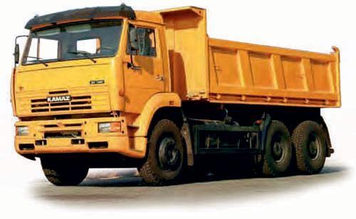 КАМАЗ 6520 вид сбоку