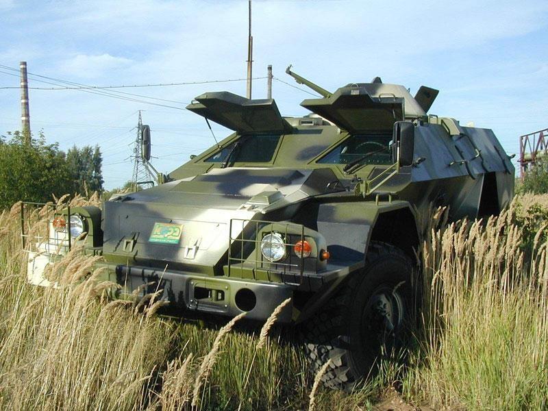 Военная техника КАМАЗ БМП-97 вид спереди
