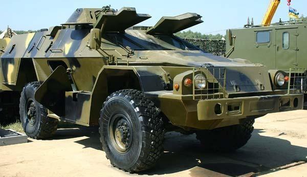 Военный КАМАЗ БМП-97