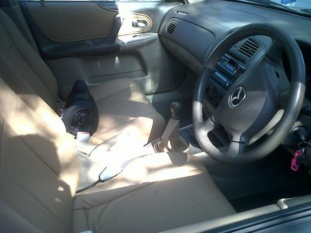 Руль, салон, кпп Mazda Etude