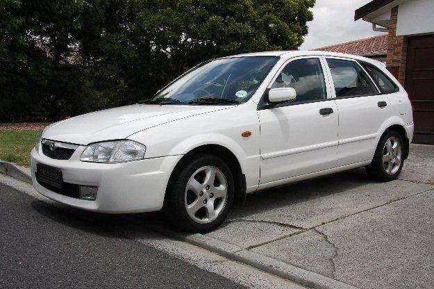 Mazda Etude, вид сбоку