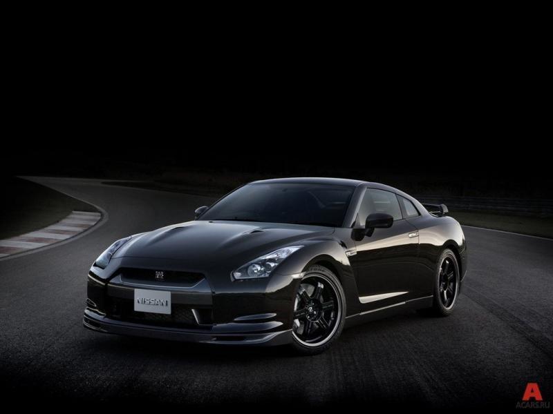 Черный Nissan President