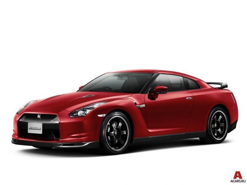 Яркий Nissan President: вид спереди слева
