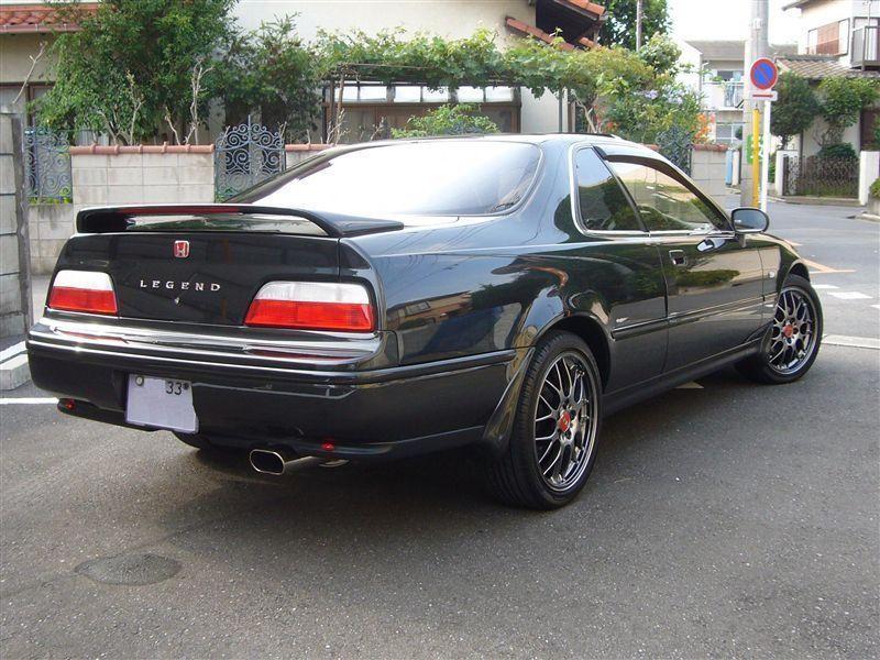 Honda Legend Coupe вид сзади