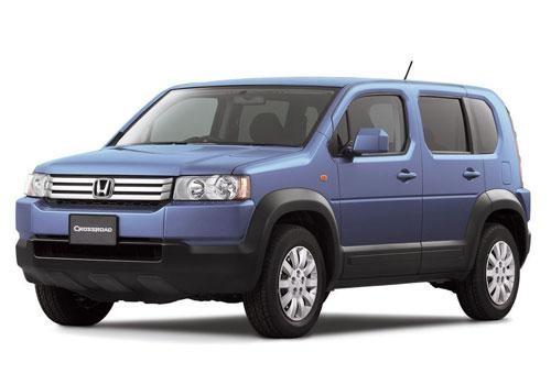 Синий Honda Crossroad