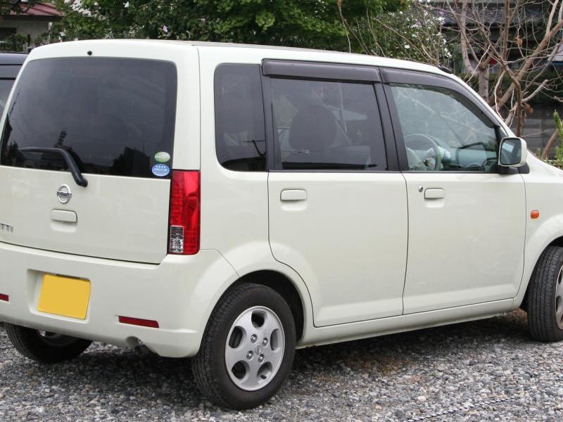 Белый Nissan Otti