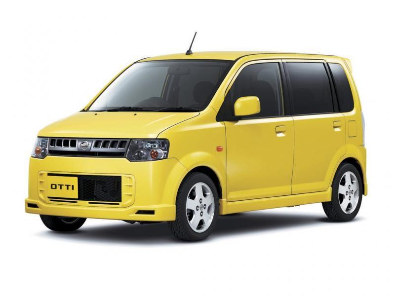 Желтый Nissan Otti