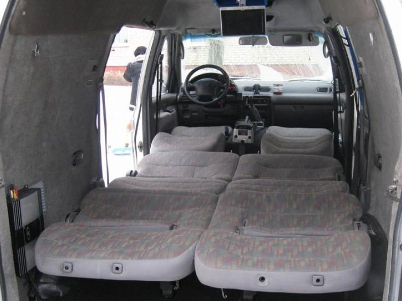 Багажник Nissan Vanette Serena