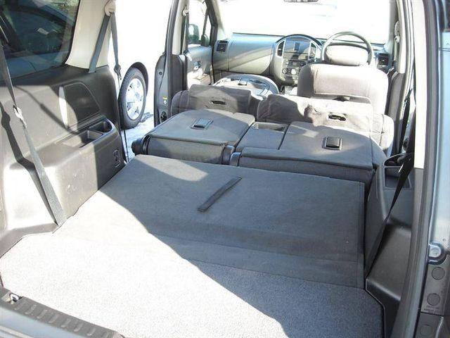 Багажник, салон Nissan Lafesta
