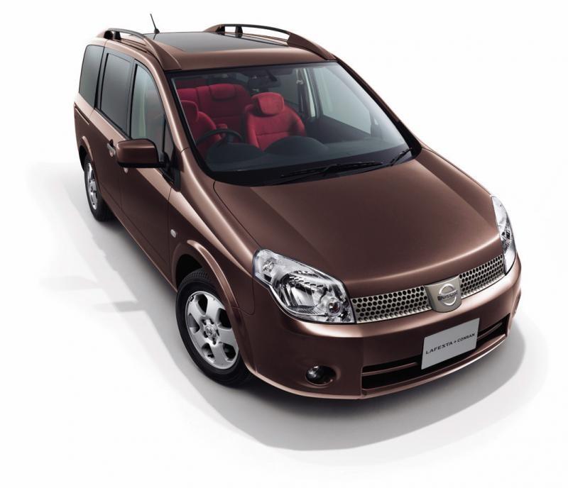 Nissan Lafesta вид спереди