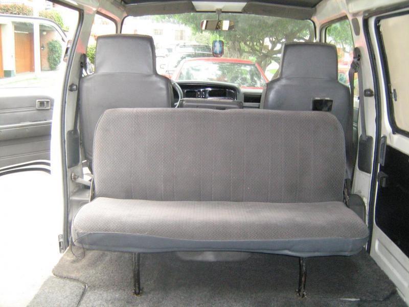 Салон Nissan Homy