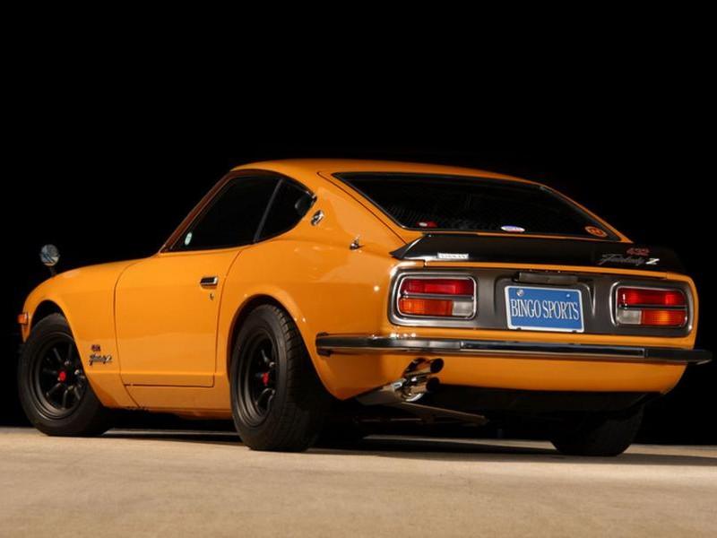 Nissan Fairlady Z вид сзади