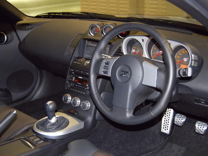 Руль, кпп, консоль Nissan Fairlady Z