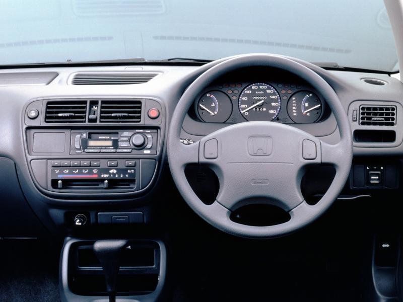 Руль, кпп, консоль Honda Civic Ferio