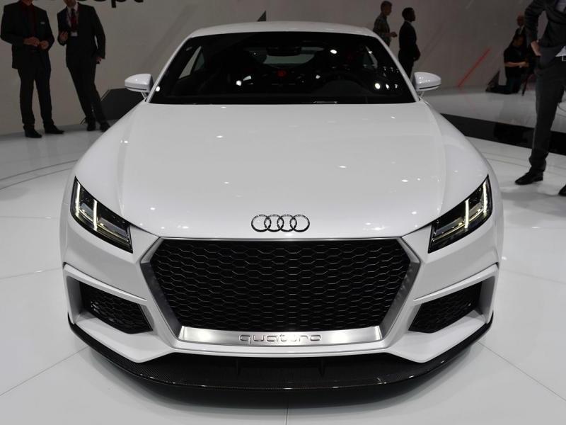 Концепт Audi TT quattro sport: вид спереди