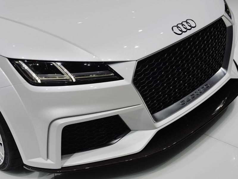 Радиаторная решетка Концепта Audi TT quattro sport