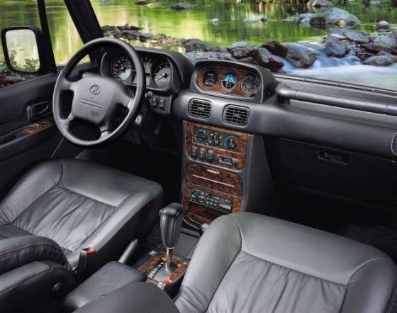 Черный салон, руль, кпп Hyundai Galloper