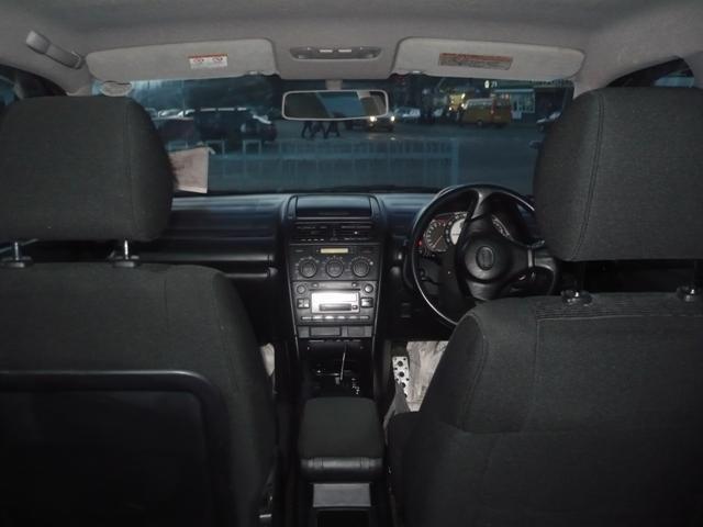 Вид из салона Toyota Altezza Wagon