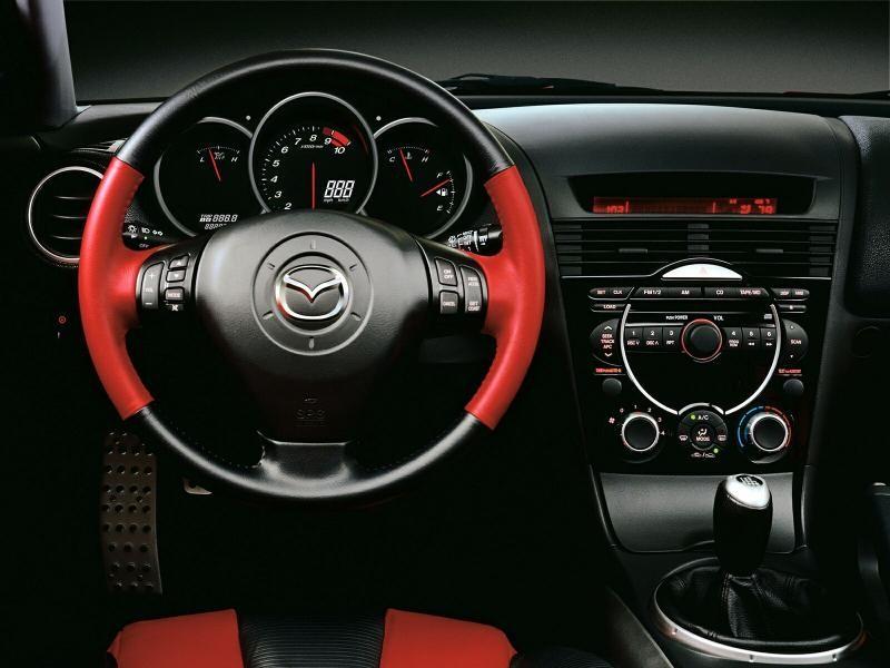 Руль, кпп, консоль Mazda RX-8
