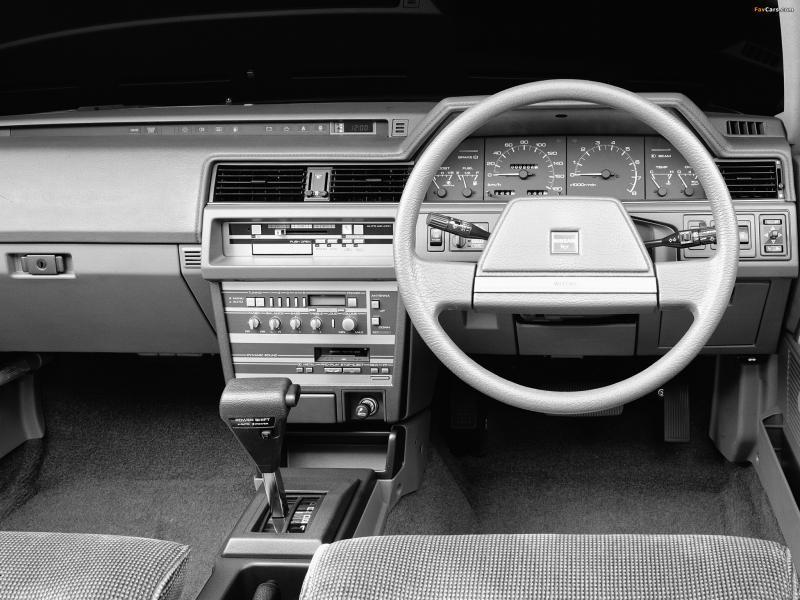 Руль, кпп, приборная панель Nissan Bluebird Maxima