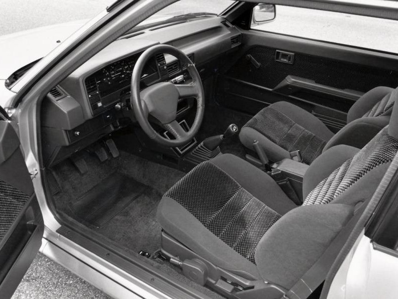 Салон Toyota Corolla FX