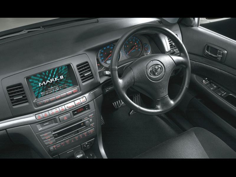 Руль, консоль Toyota Mark II Wagon Blit