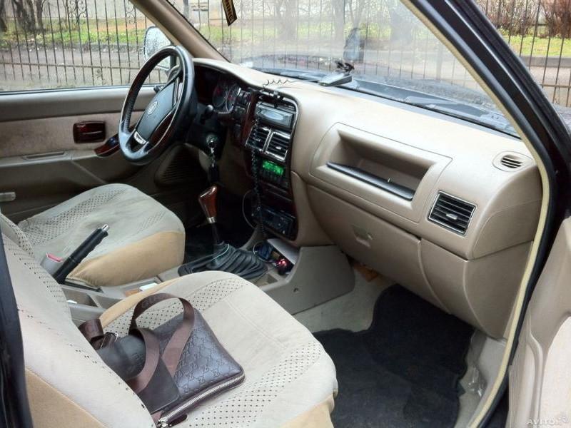Салон, руль, кпп Xin Kai SUV X3