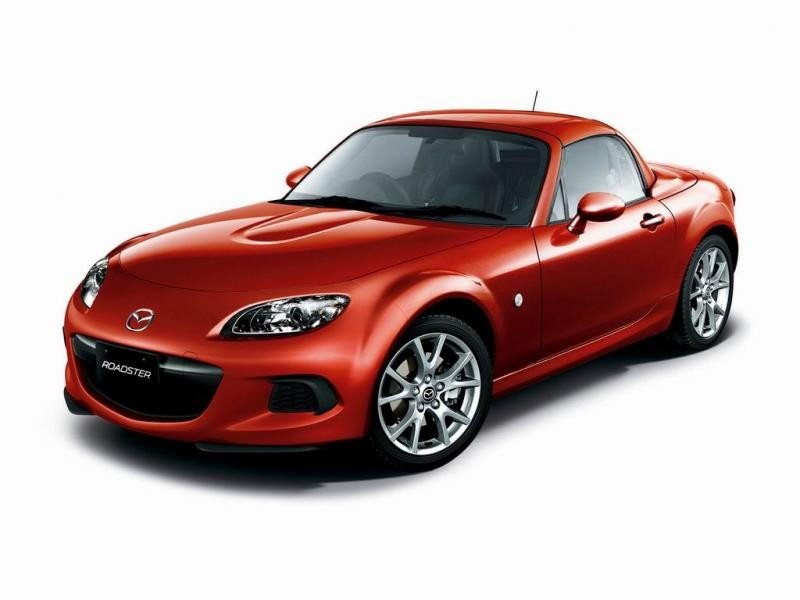 Красный Mazda MX-5 2013