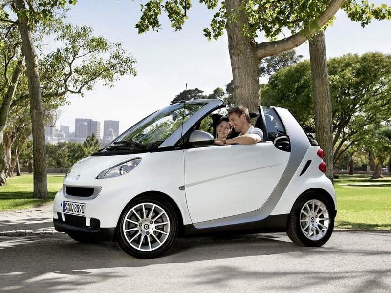 Белый Smart 600 Pure Softip вид сбоку