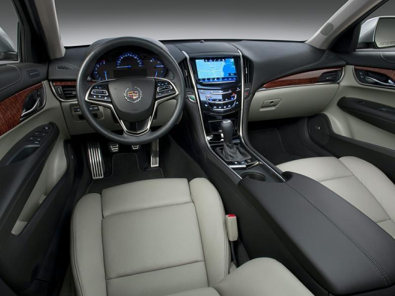 Салон, руль, консоль Cadillac ATS 2014