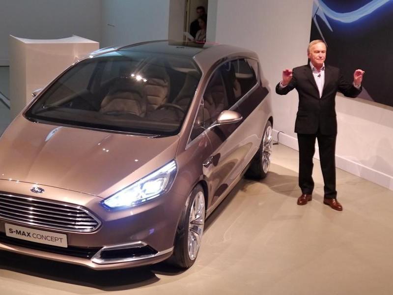 Презентация концепта Ford S-Max 2014