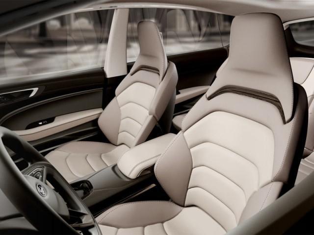 Белый салон Ford S-Max 2014 концепт