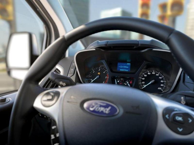 Руль, приборная панель Ford Tourneo Custom 2014