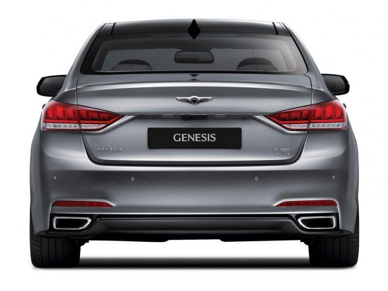 """Картинки по запросу """"Hyundai Genesis сзади"""""""