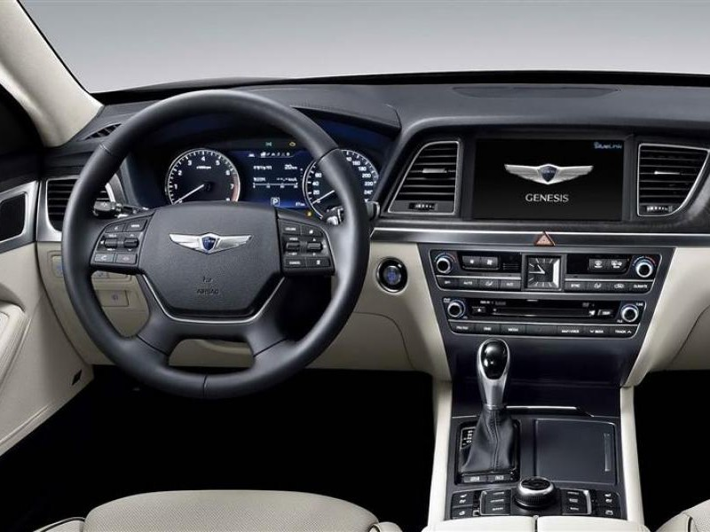 Руль, консоль, кпп Hyundai Genesis 2014