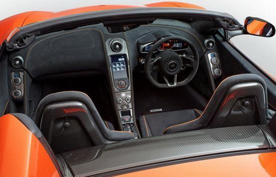 Салон McLaren 650S Spider 2014