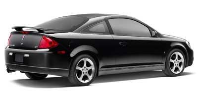 Черный купе Pontiac G5 вид сбоку