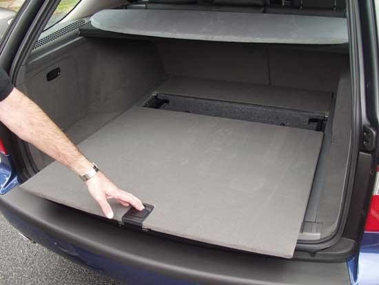 Багажник Saab 9-5 Wagon
