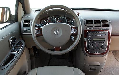 Руль, консоль Buick Terraza
