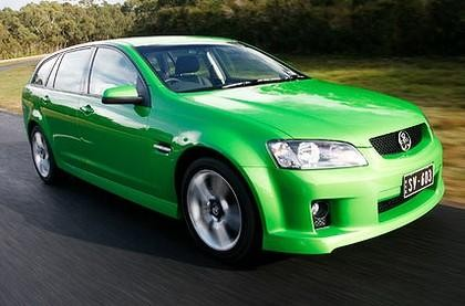 Зеленый Holden Sportwagon