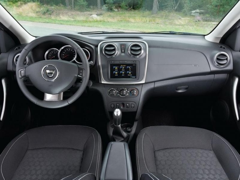 Салон, руль, коробка передач Dacia Sandero