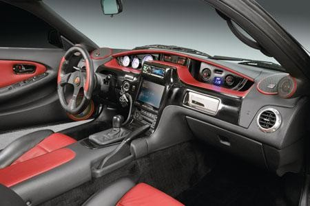 Салон, руль, консоль Toyota MR2