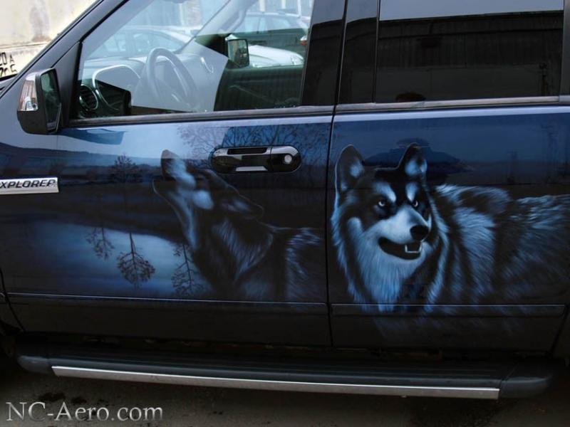 Волки на Ford Explorer
