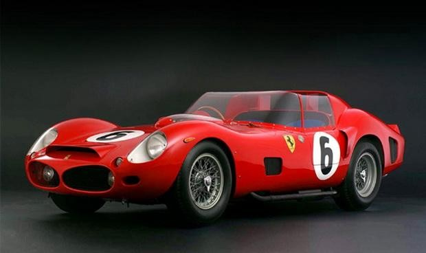 Красный Ferrari 860 Monza