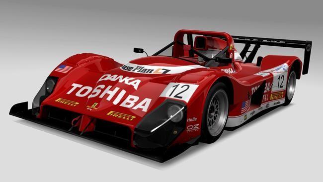 Красный Ferrari F333