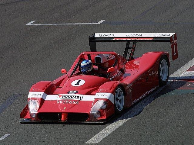 Красный Ferrari F333 1993