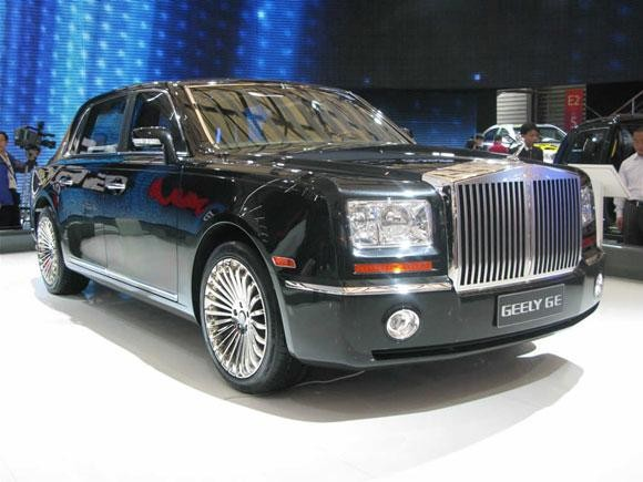 Geely GE черный седан